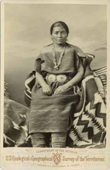 Juanita wife of Navajo Chief Manuelito