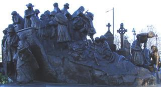 famine memorial philadelphia