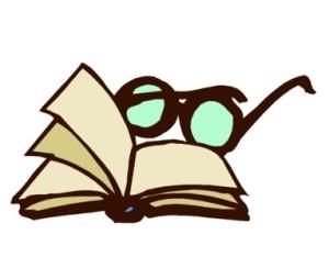 books glasses